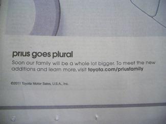 Prius-Plural