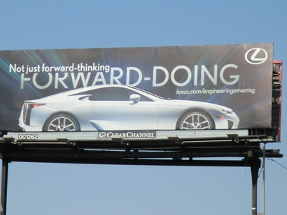 Lexus-forward-doing