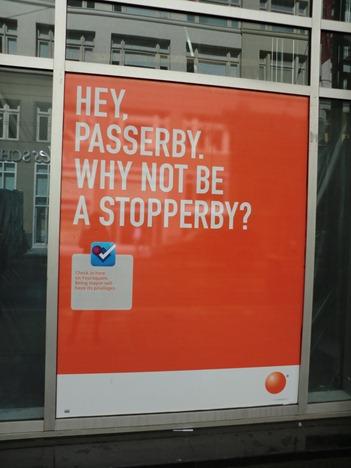 Hey Passerby