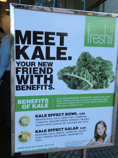 Kale with Benefits