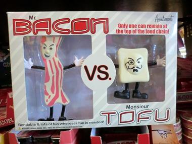 Mr Bacon Monsieur Tofu
