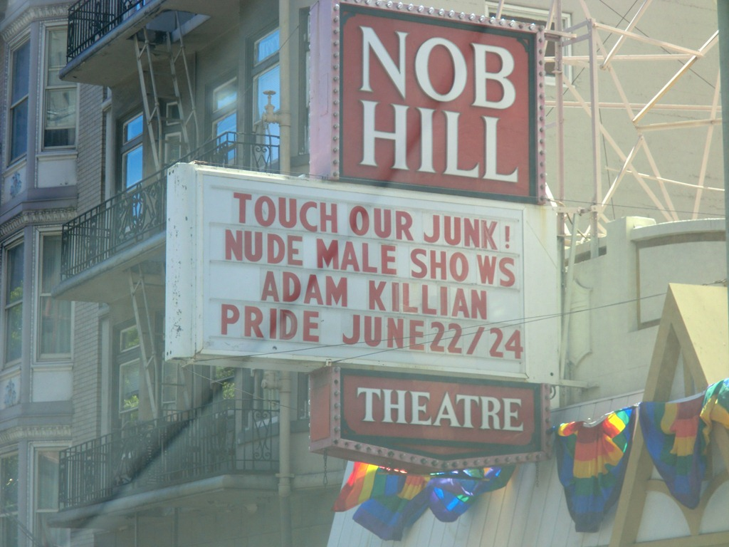 gay theater nob hill