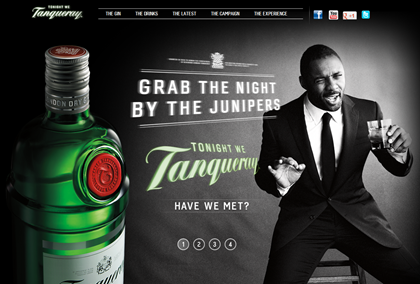 Tanqueray Grab the Night