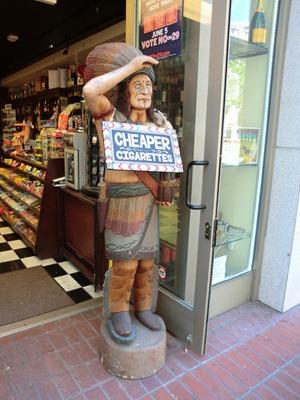 Cigar store Indian Dean's