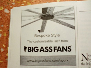 Bespoke Big Ass Fans