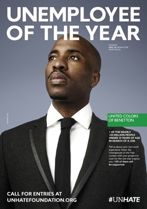 """288010ea178ca unemployee of the year benetton. """""""