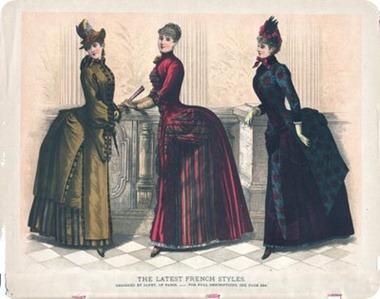 Victorian bustles