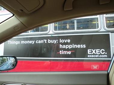 EXEC bus ad