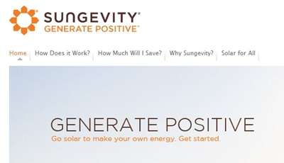 Sungevity Generate Positive