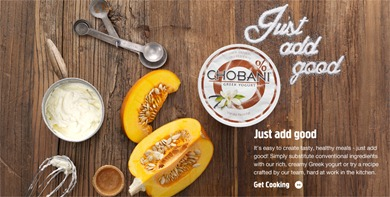 Chobani web good