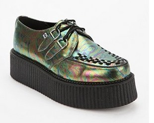 T.U.K. Oil-Slick Mondo Creeper
