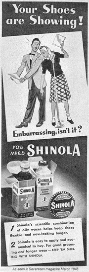 Shinola 1948 ad