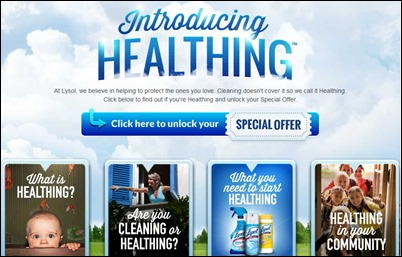 Lysol Healthing