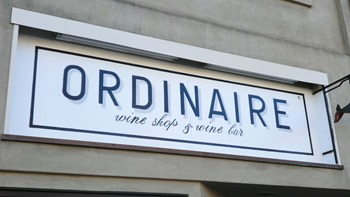 Ordinaire wine bar