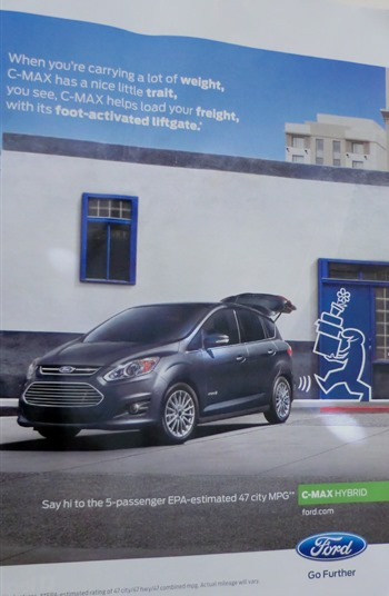 Ford C-MAX ad
