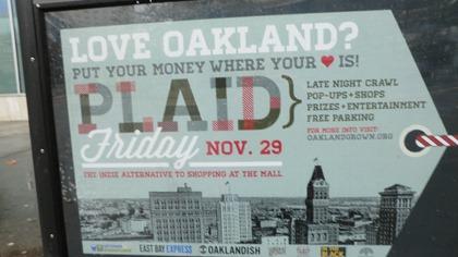 Plaid Friday Oakland