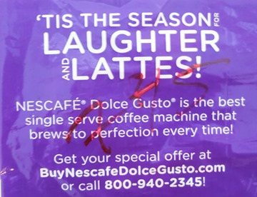 'Tis the Season Nescafe