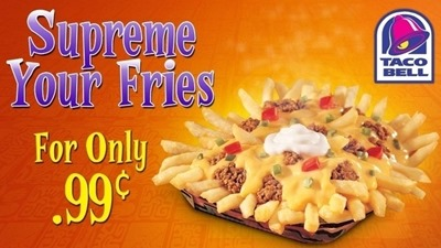 Taco Bell Supreme Your Fries Grievances