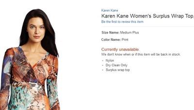 KKane surplus top