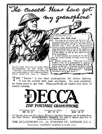 Decca gramophone