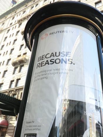 because reasons reuters