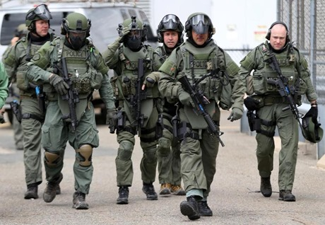 swat team boston globe