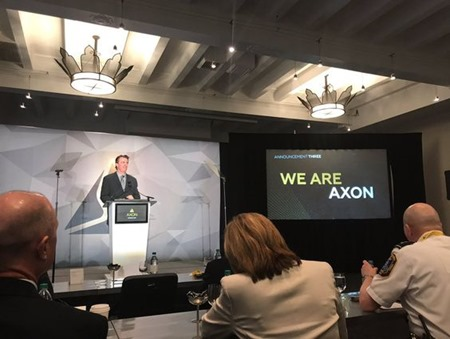 we are axon screen