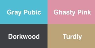 neural network color names