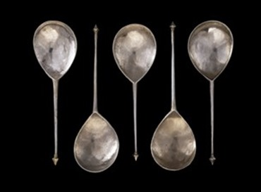 14thc spoons british museum