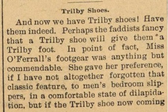 trilby shoe