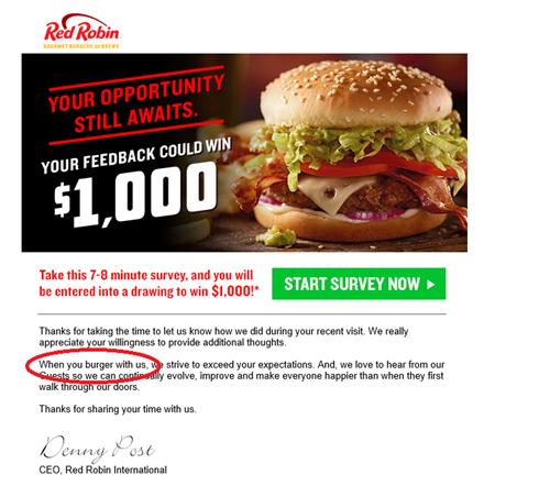 Burger King ad anthimeria