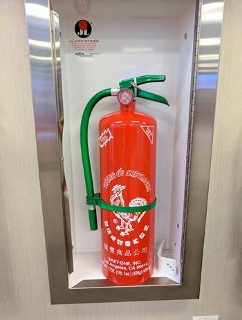 Sriracha fire