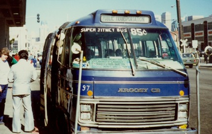 Jitney SF 1970s