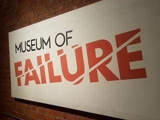 Museum Failure sign