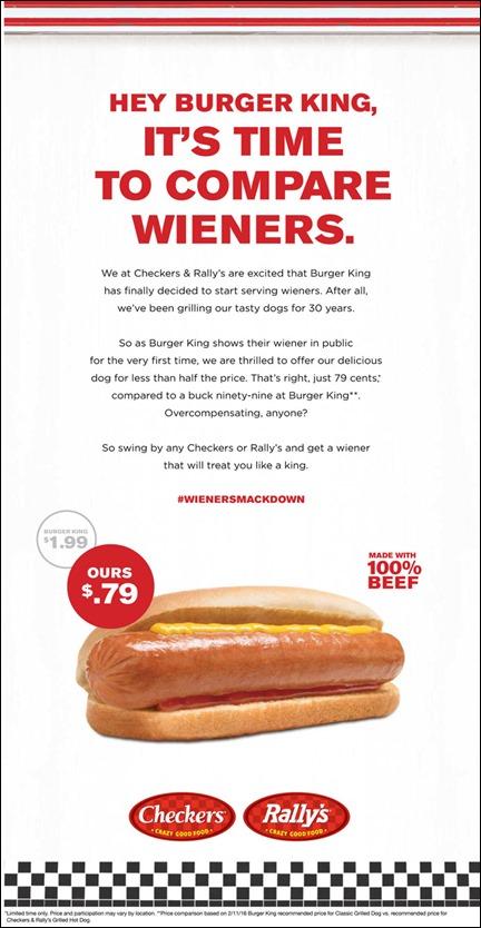Checkers-Rallys-Wiener-War-ad