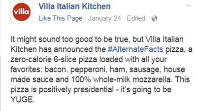 Villa alternate facts