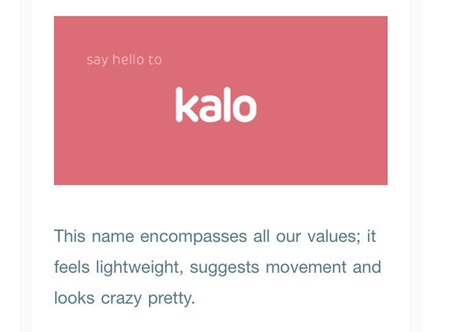 Kalo email