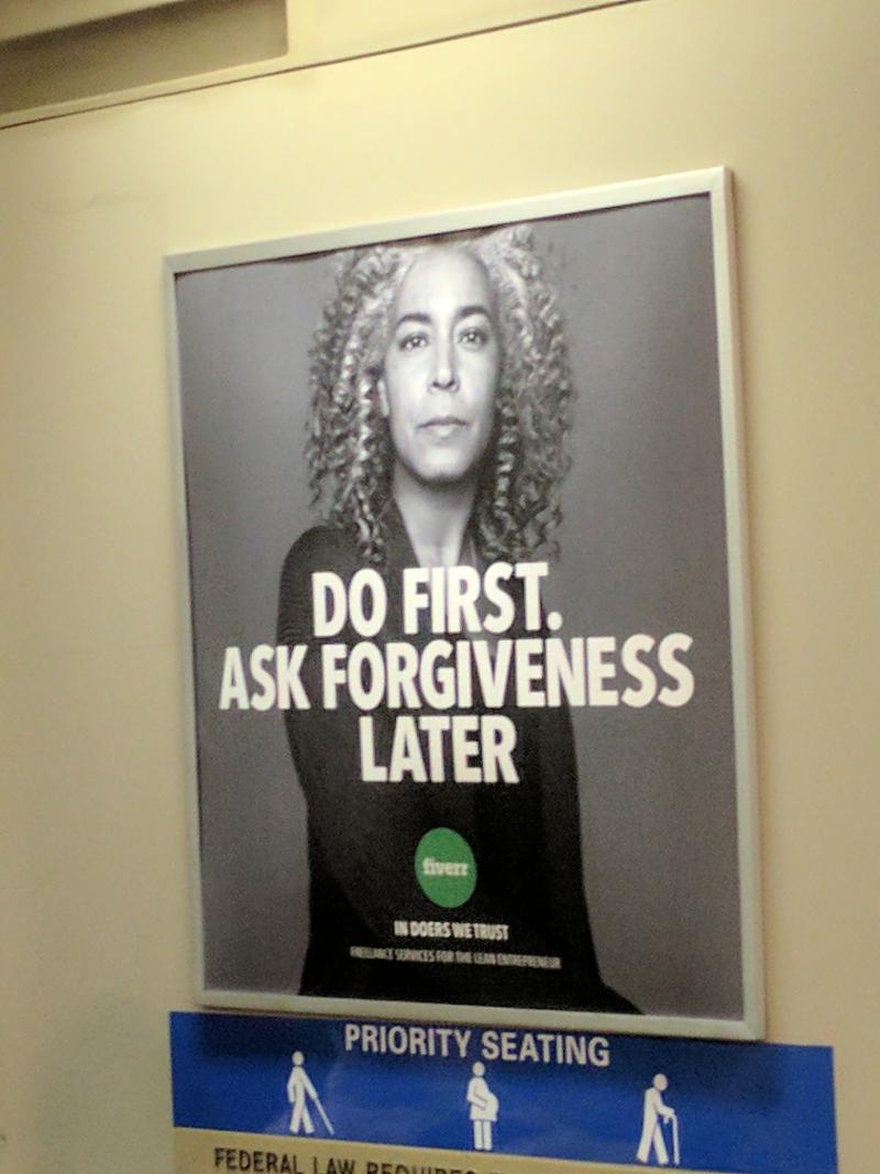 Fiverr forgiveness