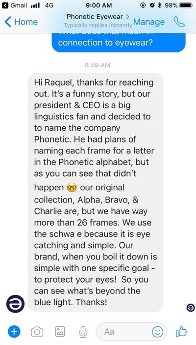 Phonetic explanation