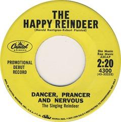 dancer prancer nervous