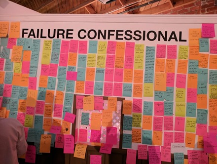 Museum Failure confessional