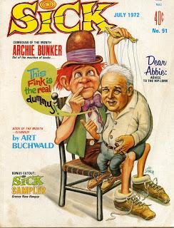 Sick magazine july 1972