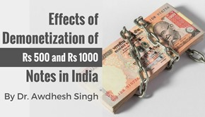 demonetization india