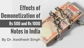 demonetization india