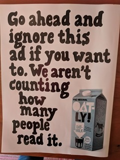 Oatly ignore ad