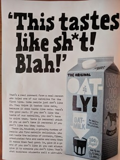 oatly shit ad