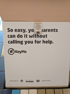 KeyMe parents BART