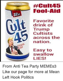 Cult 45 trump