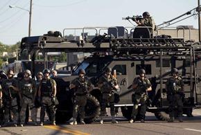 Police Ferguson 2014
