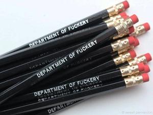 Fuckery department